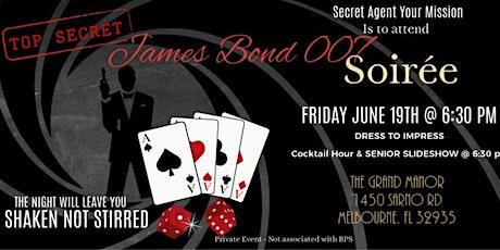 (James Bond 007) Senior Soiree tickets
