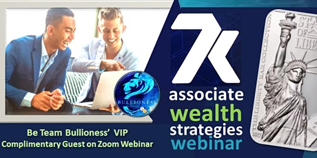 """""""Real Money"""" WEALTH STRATEGIES for ALL WEBINAR (GUESTS FREE) tickets"""