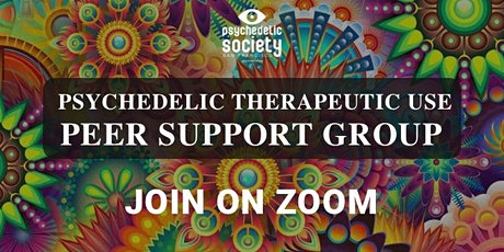 Virtual Psychedelic Therapeutic Use Peer Support Group  tickets