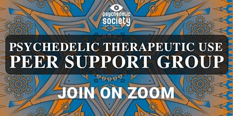 Virtual Psychedelic Therapeutic Use Peer Support Group (petaluma) tickets