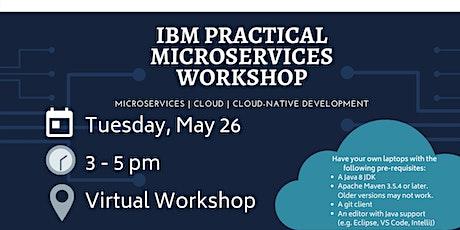 IEEE YorkU x IBM: Virtual Practical Microservices Workshop billets