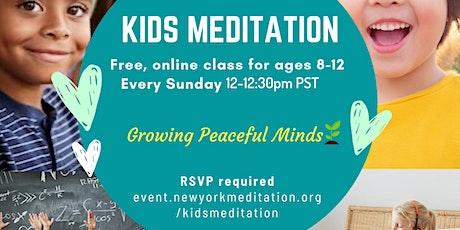 Kids Meditation tickets