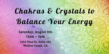 Chakras & Crystals to Balance Your Energy tickets