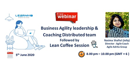 Business Agility Leadership & Coaching Distributed Team tickets