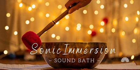 Sonic Immersion: Sound Bath tickets