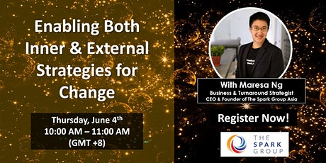 (Online) Enabling Inner & External Strategies for Change tickets