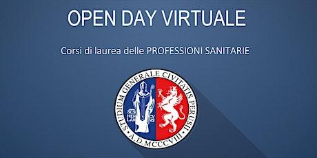 Open Day Virtuale UNIPG -Corsi delle Professioni Sanitarie (2° DATA) biglietti