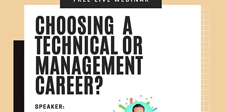 Choosing a Technical or Management Career in Tech? biglietti