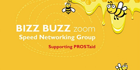 Leicester Bizz Buzz Zoom - online networking billets