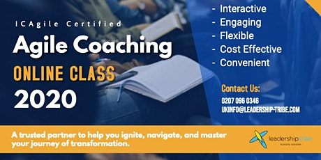 Agile Coaching (ICP-ACC)| Virtual Classes - September 2020 tickets