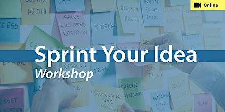 Design Sprint Training Workshop billets