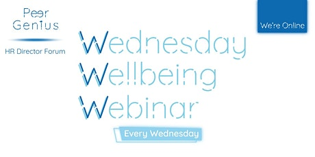 Wednesday HR Well-being Webinar  tickets