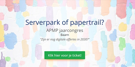 APMP NL jaarcongres 2020 tickets