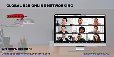 Global B2B Online Networking tickets