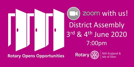 Rotary District 1285 Assembly 2020 tickets