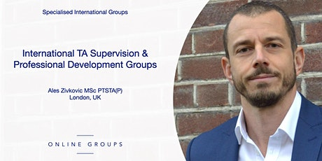International TA Supervision & Professional Development Groups tickets