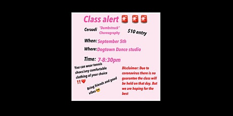 "Kaylas dance class ""Ceraadi Choreography"" tickets"