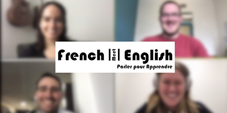 FrenchmeetEnglish - Online Language Exchange (via Zoom!) billets