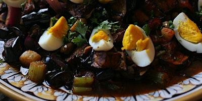 Online Cooking: Eggplant Caponata