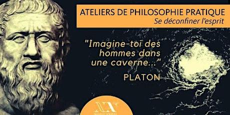 Cycle de philosophie pratique (14 ateliers)-Premiers cours: 4/10 et 11 juin tickets