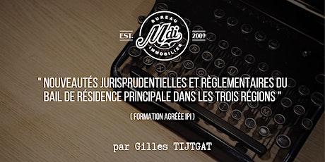 Formation by MDi  #2 - Nouveautés du bail de résidence dans les 3 régions tickets