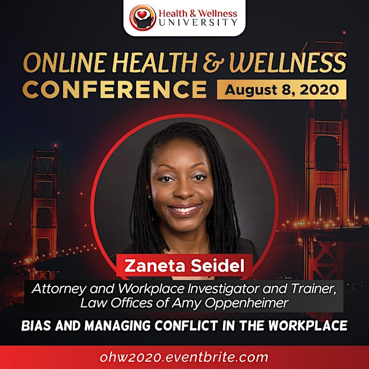 Online Health and Wellness Conference image