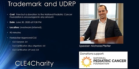 Online CLE for Charity: Trademarks and UDRP tickets