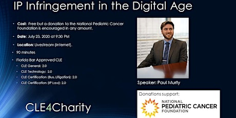 CLE for Charity: IP Infringement in the Digital Age tickets