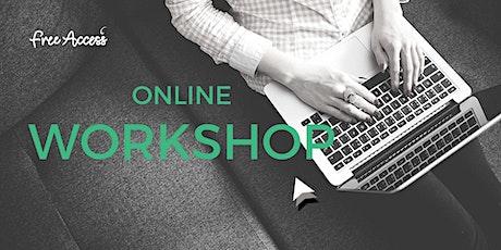 Online workshop: Basics of Coding tickets