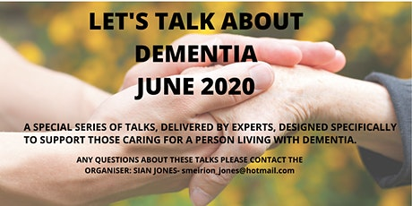 Let's Talk about Dementia- Financial guidance for future planning ingressos