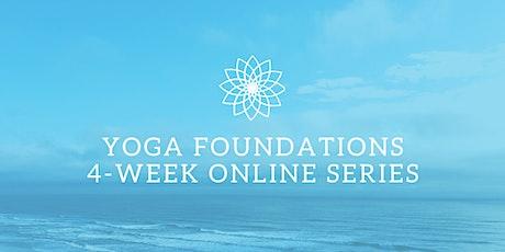 Yoga Foundations 4-Week Online Series tickets