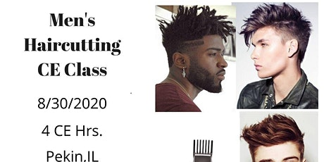 Hands on Men's Haircutting CE Class tickets