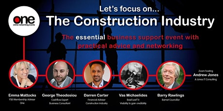 ONE: Rebuild & Profit Trades & Construction Sector Online Event tickets