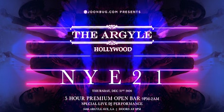 The Argyle NYE '21 NEW YEAR'S EVE PARTY tickets