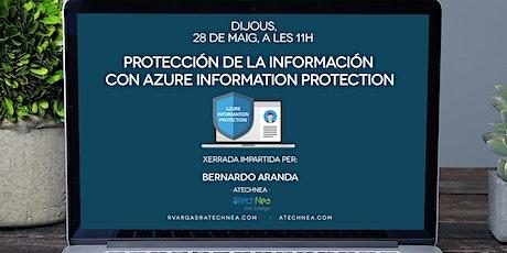 Protección de la información  con Azure Information Protection biglietti