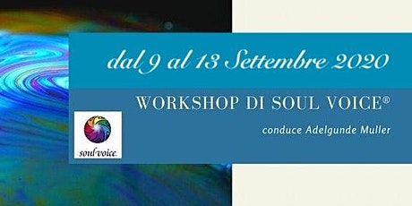 5 giorni con il Soul Voice® biglietti