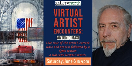 Virtual Artist Encounters: Antonio Masi tickets