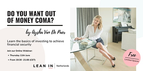 Lean In NL event : Learn the investing basics to achieve financial security tickets