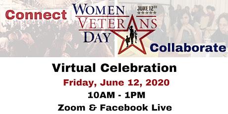 Women Veterans Day 2020 - Virtual Celebration tickets