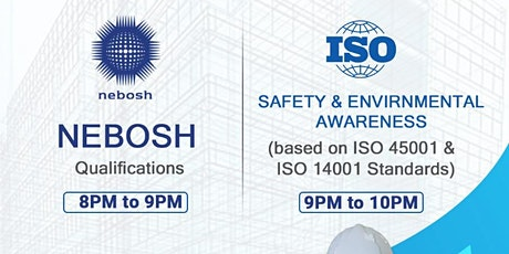 Safety & Environmental Awareness Free Webinar (ISO tickets