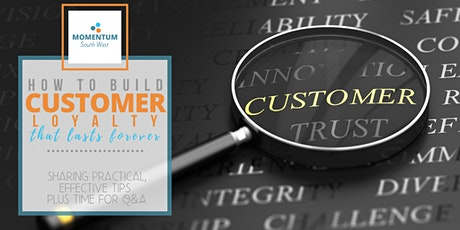 How to build customer loyalty that lasts forever - live webinar tickets