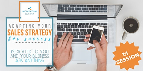 Adapting your Sales Strategy for Success - 1:1 session tickets