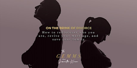 On the Brink of Divorce tickets