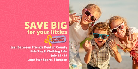 General Admission FREE Ticket Childrens Toy & Clothing Sale tickets