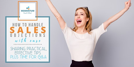How to handle sales objections with ease - live webinar tickets