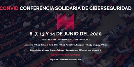 CONVID CONFERENCIA SOLIDARIA DE CIBERSEGURIDAD entradas