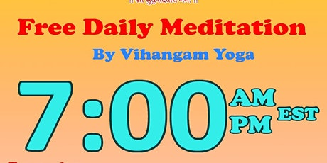 FREE Daily Online Meditation learn and practice with Instructor tickets