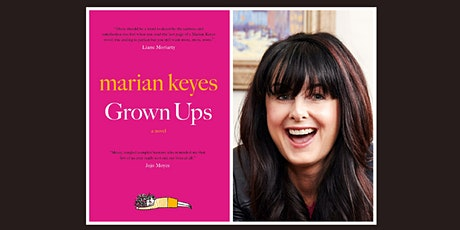 Author Marian Keyes Virtual Event tickets
