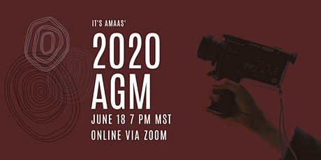 2020 AGM tickets