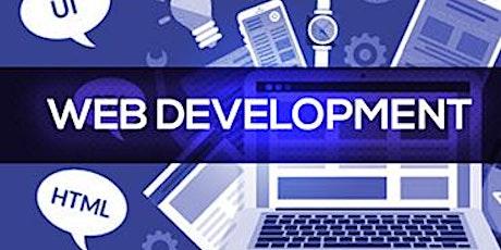 4 Weekends Web Development  (JavaScript, CSS, HTML) Training  in Wellington tickets
